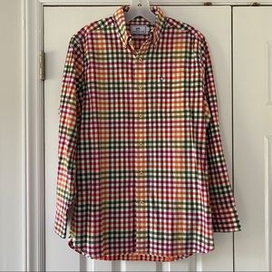 Southern Tide Multicolor Gingham Classic Fit Shirt